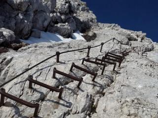 Ferrata - zajištěná horská cesta