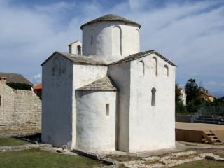 Kostel sv. Kříže v městečku Nin je nejmenší katedrála na světě