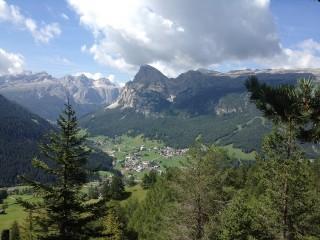Alta Badia v letních měsících